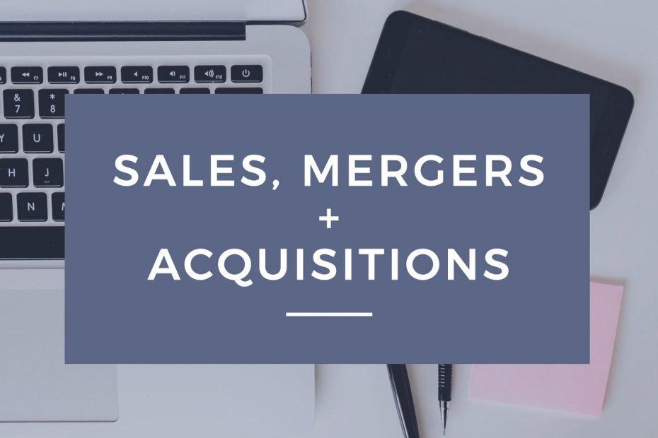 Sales Mergers & Acquisitions